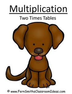 Quick and Easy Center and Printables - Multiply By Two - Puppy Themed #TPT $Paid