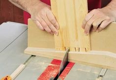 Table Saw Dovetail Jig plans