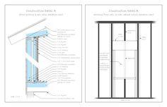 Recording Studio Construction Plans #2 - Detail A & B