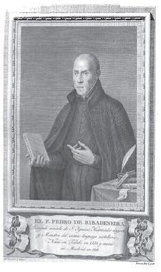 Pedro de Ribadeneira (del libro Retratos de Españoles ilustres, 1791)