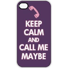 Keep Calm and Call Me Maybe iPhone Case Funny Phone Cases, Iphone Cases, Call Me Maybe, Cant Keep Calm, Crazy Life, Great Friends, Phone Accessories, Funny Shirts, Lol
