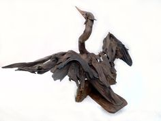 Giant dart driftwood sculpture by Tony Fredriksson www.openskywoodart.com