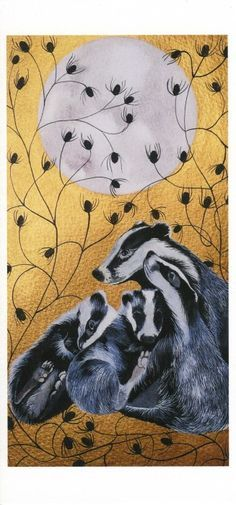 Image result for savethebadgers.com Sam Cannon, Gothic Themes, Fields Of Gold, Honey Badger, Woodland Creatures, Whimsical Art, Art Boards, Animals Beautiful, Illustration Art
