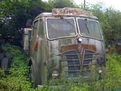 FODEN Abandoned Cars, Abandoned Vehicles, Vehicle Signage, Old Lorries, Rust In Peace, Train Truck, Old Commercials, Rusty Cars, Old Trains