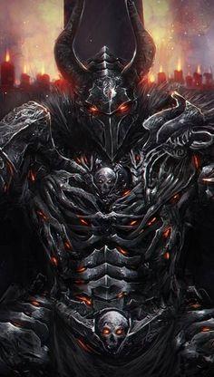 Foto Fantasy, Dark Fantasy Art, Dark Art, Fantasy Monster, Monster Art, Mythical Creatures Art, Fantasy Creatures, Armor Concept, Concept Art