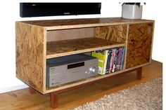 OSB Sideboard, simple functional clean