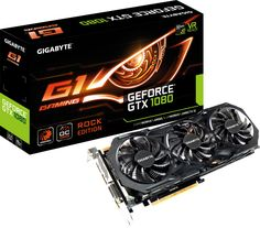 GIGABYTE Introduces GeForce GTX 1080 Rock Edition Graphics Card