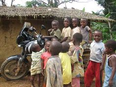 TSSSSsssszt!  Moto!  Children of Cameroon