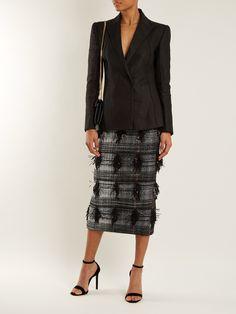Palm Fancy tweed pencil skirt | Carl Kapp | MATCHESFASHION.COM UK