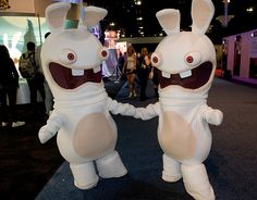 raving rabbids mobile case by anapeig on deviantart - Raving Rabbids Halloween Costume