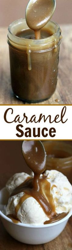 Easy Creamy Homemade Caramel Sauce recipe from Tastes Better From Scratch