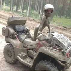 Pictures of Crazy Girls That Will Make Your Day Gif Motos, Toyota, The Perfect Girl, Quad Bike, Trucks And Girls, Crazy Girls, Biker Girl, Bike Life, Girl Humor