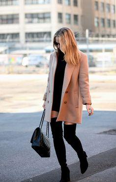Camel #coat