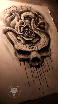 the rose by AndreySkull
