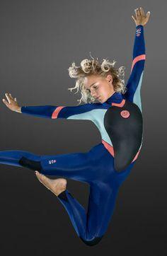 New NP Women's Wetsuit Collection 2015 | KiteSista | http://www.kitesista.com/new-np-womens-wetsuit-collection-2015/