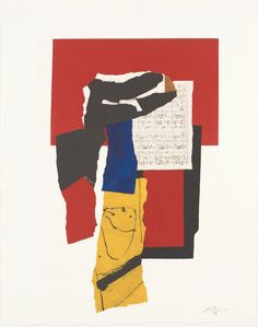 Robert Motherwell. The Red and Black #51. 1987