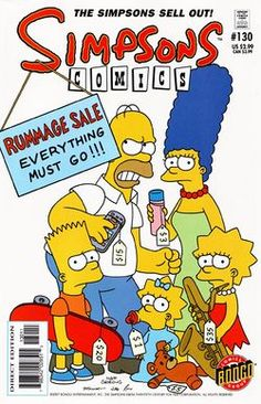 THE SIMPSONS COMIC BOOKS - Google Search