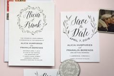Affordable Wedding Invitations from Printable Press A Practical Wedding: Blog Ideas for the Modern Wedding, Plus Marriage