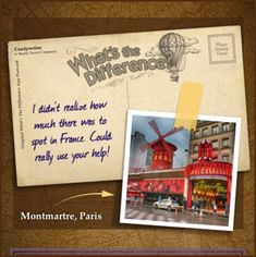 I didn't realize how much there was to spot in France. Could really use your help!  See where I'm going next: WhatsTheDifferenceApp.com