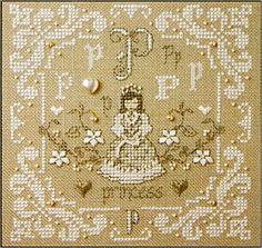 cross stitch patterns princess - Google Search