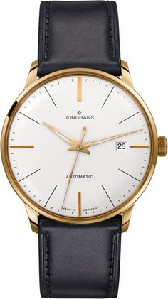 Junghans Watch Meister Classic #bezel-fixed #bracelet-strap-leather #brand-junghans #case-depth-9mm #case-material-rose-gold #case-width-38-4mm #date-yes #delivery-timescale-7-10-days #dial-colour-silver #gender-mens #luxury #movement-automatic #official-stockist-for-junghans-watches #packaging-junghans-watch-packaging #style-dress #subcat-meister #supplier-model-no-027-7312-00 #warranty-junghans-official-2-year-guarantee #water-resistant-30m
