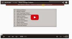 JAVA EE: Base Design Pattern - Playlist