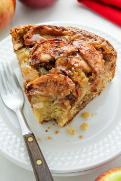 Flavorful and moist homemade German Apple Cake - a delicious addition to any dessert spread! German Apple Cake, French Apple Cake, Sweet Recipes, Cake Recipes, Apple Desserts, German Desserts, Apple Cakes, German Recipes, Moist Cakes