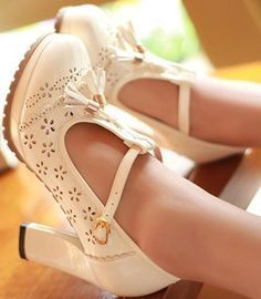 wedding shoes thick heel