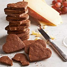 Smoky Chocolate Crackers From Better Homes and Gardens, ideas and improvement projects for your home and garden plus recipes and entertaining ideas.