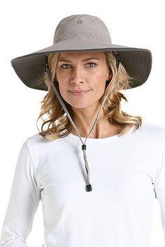 Shapeable Sun Catcher Hat - A distinctively shaped sun hat that you can Wand Curler, Upf Clothing, Sun Protective Clothing, Safari Hat, Sun Hats For Women, Dark Khaki, Sun Catcher, Caps Hats, Bathing Suits