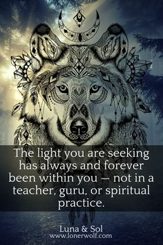 The light that is in them is also inside of you. Your Higher Self, your Soul, is your ultimate source of authority.