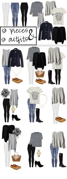 Travel Outfit Casual Summer Capsule Wardrobe Ideas For 2019 Mode Outfits, Casual Outfits, Fashion Outfits, Womens Fashion, Packing Outfits, Travel Outfits, Packing Ideas, Packing Clothes, Fashion Ideas