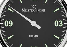 Colección de relojes mono aguja MeisterSinger Urban adelanto de Baselworld 2018 con cuatro versiones con esferas diferentes y maquinarias automáticas