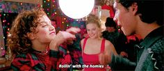 Find the best clueless, rollin with the homies animated GIFs on PopKey Teen Movies, Good Movies, Movie Tv, Awesome Movies, Favorite Movie Quotes, Best Quotes, Favorite Things, Moving Pictures, Funny Pictures