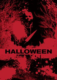 """Artists are invited to create one-of-a-kind static artwork for Universal Pictures' newest film """"Halloween"""". Halloween Film, Halloween Series, Halloween 2018, Halloween Horror, Scary Movies, Horror Movies, Halloween Universal, Halloween Resurrection, Slasher Movies"""