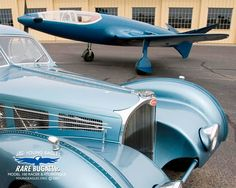 The Bugatti P100: The 1938 Aircraft That Came From The Future. In 1938, with dreams of taking out one of Europe's most prestigious air races, Ettore Bugatti—yes, the car guy—and Belgian engineer Louis de Monge got to work designing an aircraft like nothing the world had ever seen before. http://tmi.kotaku.com/the-1938-aircraft-that-came-from-the-future-1717604829 http://bugatti100p.com/