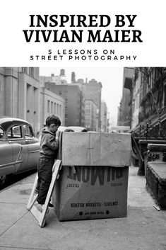 Inspired by Vivian Maier, Lessons on Street Photography. - Inspired by Vivian Maier, 5 Lessons on Street Photography - Photography Lessons, Creative Photography, Amazing Photography, Vivian Maier, Street Photography People, Expositions, Street Photographers, Inspiration, George Bernard