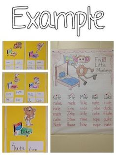 FIVE LITTLE MONKEYS {FINAL -E} FREEBIE - TeachersPayTeachers.com