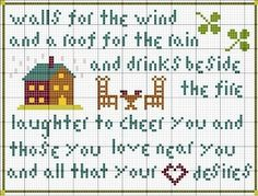 Irish blessing~cute quote about home