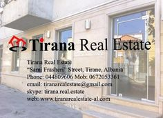 For Rent Business Space at Zogu I Boulevard. Price 800 Euro/month. Tirana Real Estate