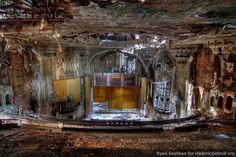 A beautiful, sad, lost gem: the United Artists theater in Detroit, MI