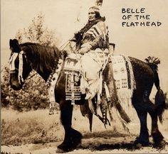 Cecille Tellier at St. Ignatius, Montana - Flathead - no date