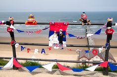 In a Banksy inspired style, numerous knitted displays have popped up around the country and have now been recognised enough to gain their own day, with the title of 'International Yarn Bombing Day'. The North East has seen it before, with a Phantom Knitter sharing their creations in Saltburn, Teesside in the form of knitted teddy bears picnics, a selection of knitted buns and a library appropriate knitted book collection in honour of the Queen's recent Jubilee.