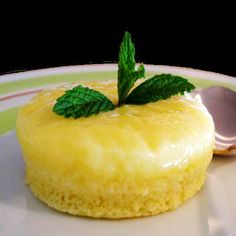 One Perfect Bite: Easy Lemon Pudding Cakes
