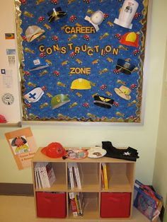 (C) Elementary career-themed bulletin board/activity center idea