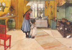 Die Küche/ Carl Larsson