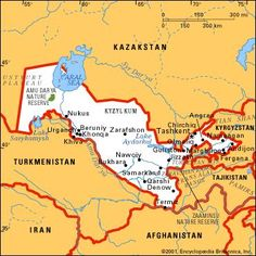 21314 1ab Tajikistan the smallest country of the Central Asia