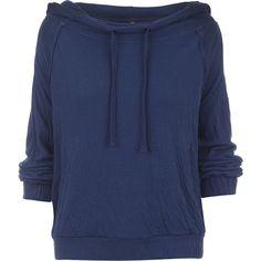 Free People Kimmie Pullover Sweatshirt ($98) ❤ liked on Polyvore featuring tops, hoodies, sweatshirts, cotton sweatshirts, cropped pullover, crop top, free people tops and pocket sweatshirt