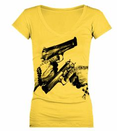Boondock Saints Veritas - V-Neck Short Sleeve T-Shirt Sadie would love this