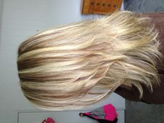 Highlights low lights and a cut!! By Cortney at Southern Strandz in Pigeon Forge TN